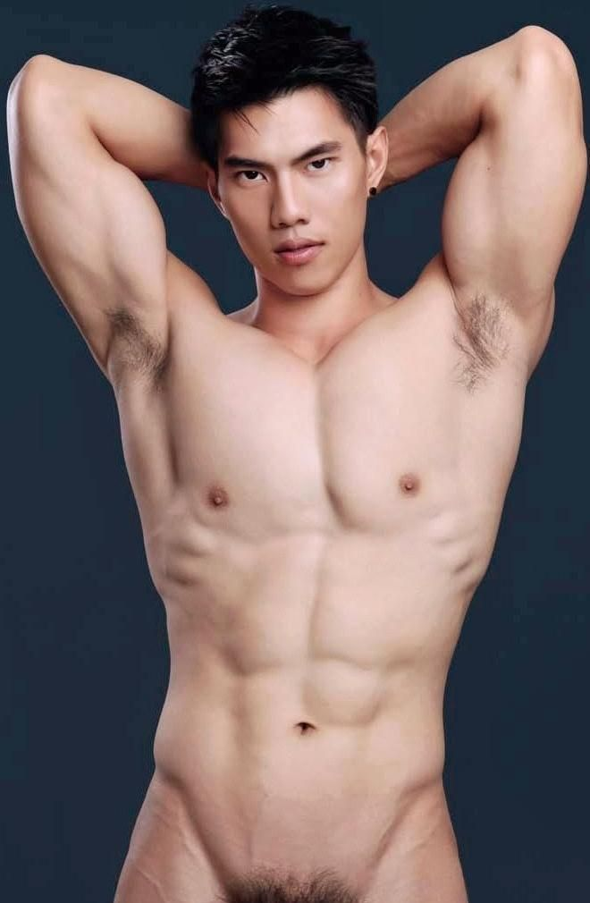 Muscular Gay Asian Men