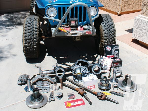 Building A Junkyard Dana 60 For A Tj Jp Magazine Willys Jeep Offroad Jeep Jeep Tj