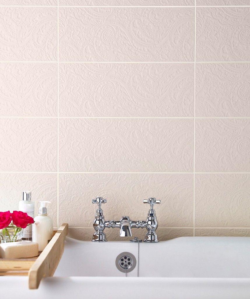 Belleza Wheat Ornate | Topps Tiles £49.70 sq m