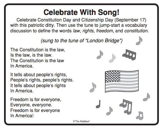 Constitution Day/Citizenship Day is celebrated each year on ...