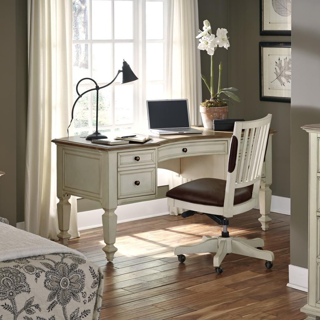 The Coronado 66 Inch Half Pedestal Desk With Chair Is An