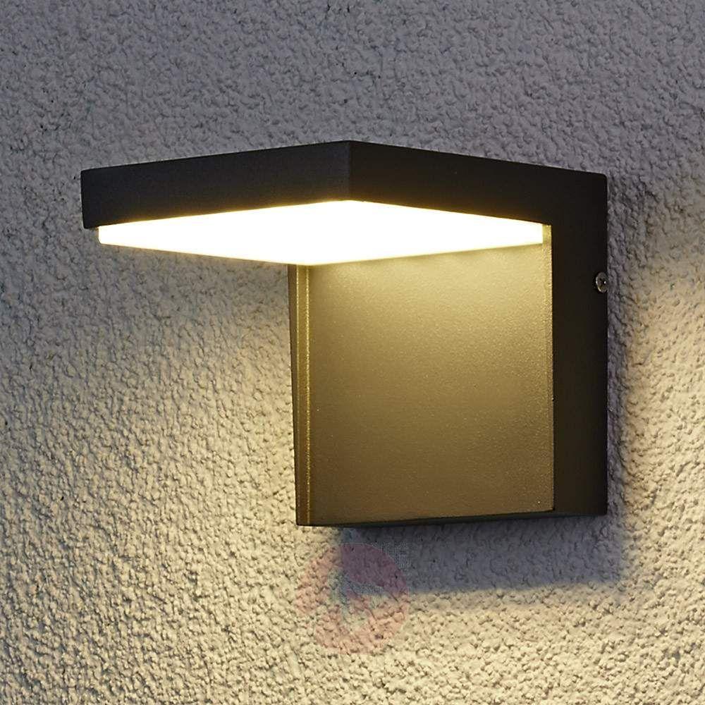Modern Rachel Led Outdoor Wall Light Aluminium Modern Outdoor Wall Lighting Contemporary Outdoor Wall Lights Outdoor Wall Lamps