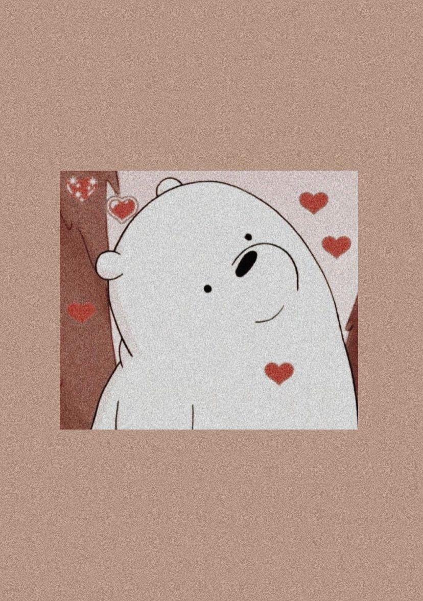 Aesthetic Cartoon Wallpaper We Bare Bears Wallpapers Ice Bear We Bare Bears