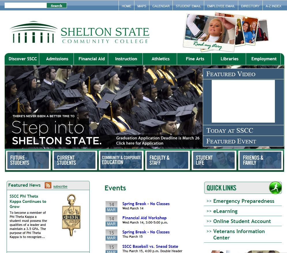 Shelton State Community College Is A Two Year Community College