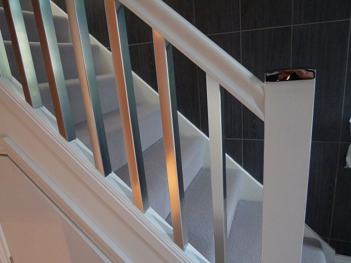 Comfortable 23 Staircase With Black Spindles On Balusters Metal Spindles Stair  Parts Staircase