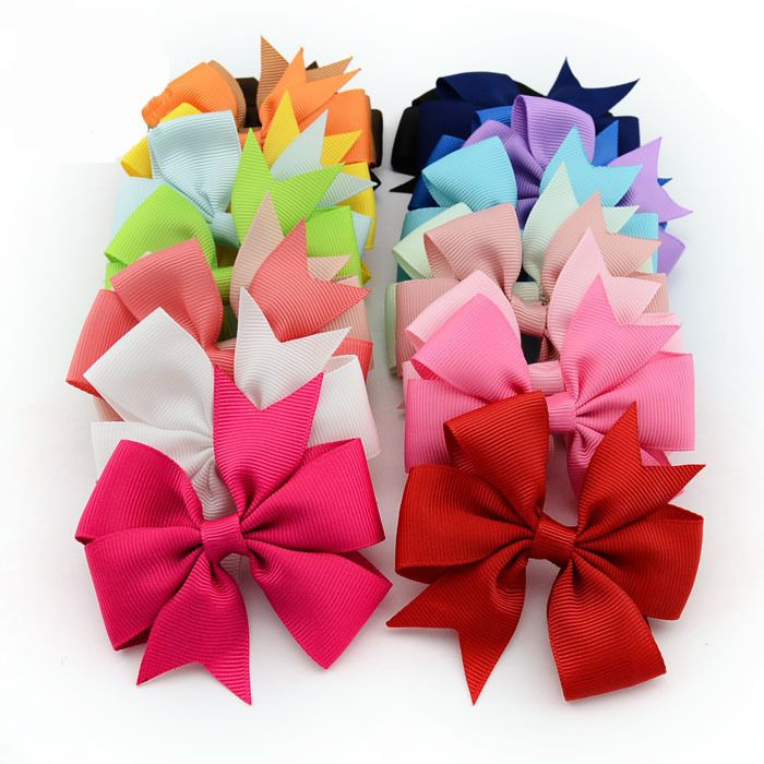 Fashion Boutique Big Bow Hairpins Hair Clips for Kids Girls Hair Accessories
