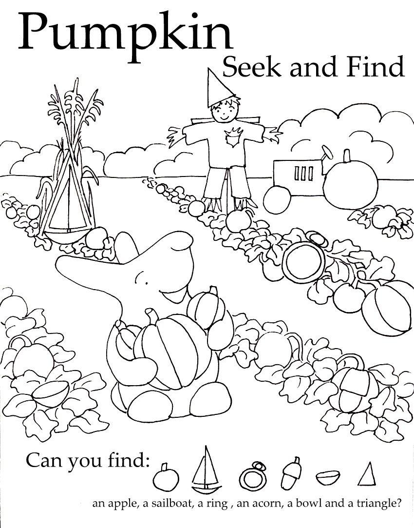 Seek And Finds Free Preschool Worksheets Preschool Worksheets Preschool Activities