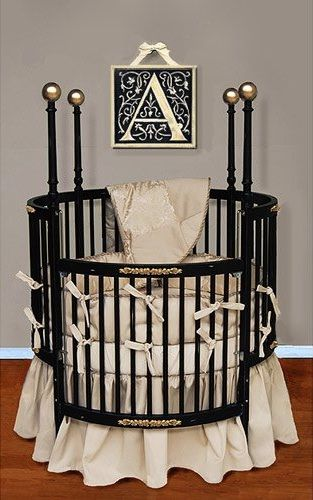 Should We Say Fancy Baby Round Baby Cribs Round Cribs Baby
