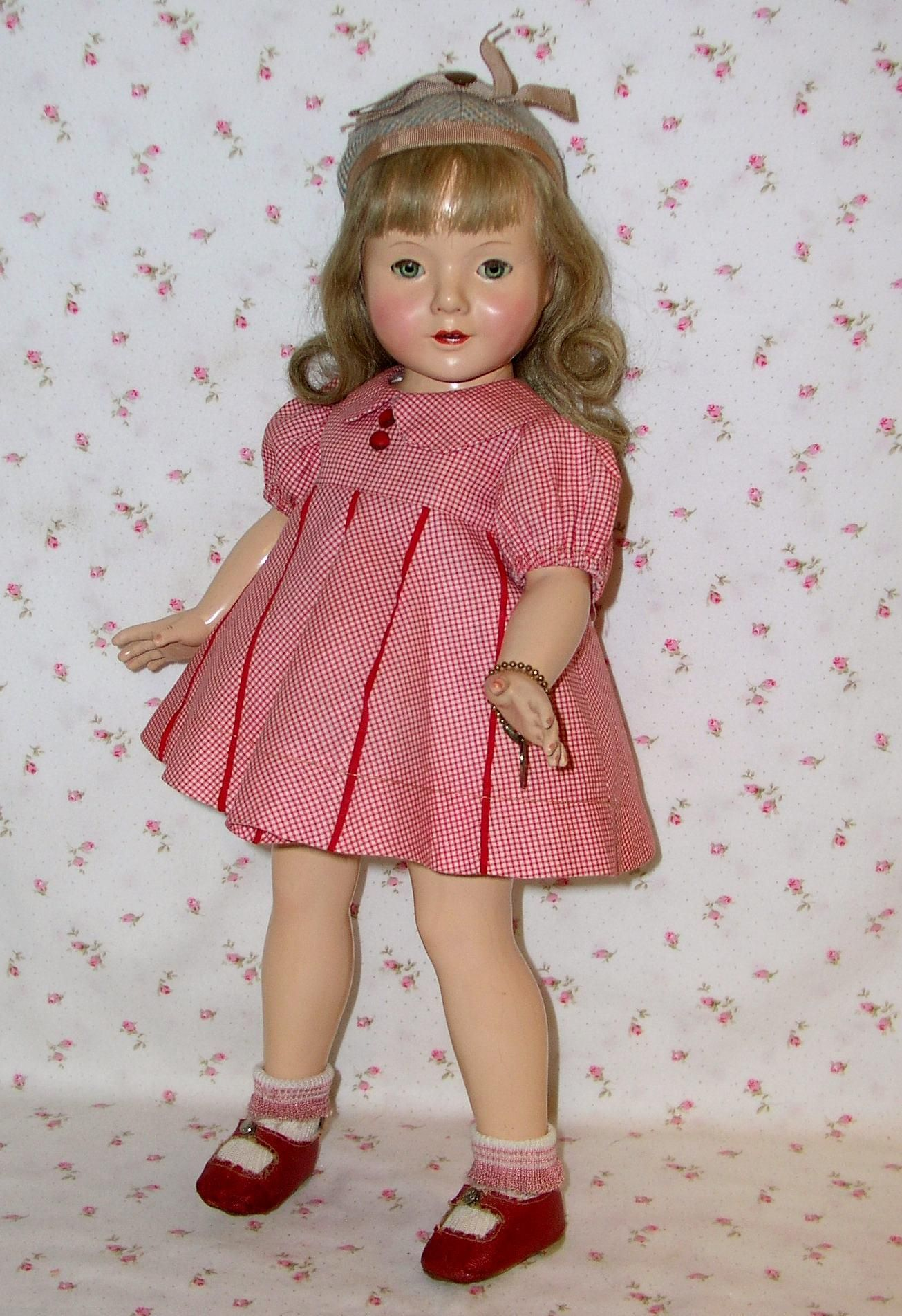 """White Ankle Socks for 19/"""" Vintage Chatty Cathy Doll"""