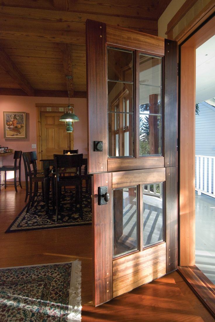 Custom Dutch Entry Doors | Dutch Door Designs