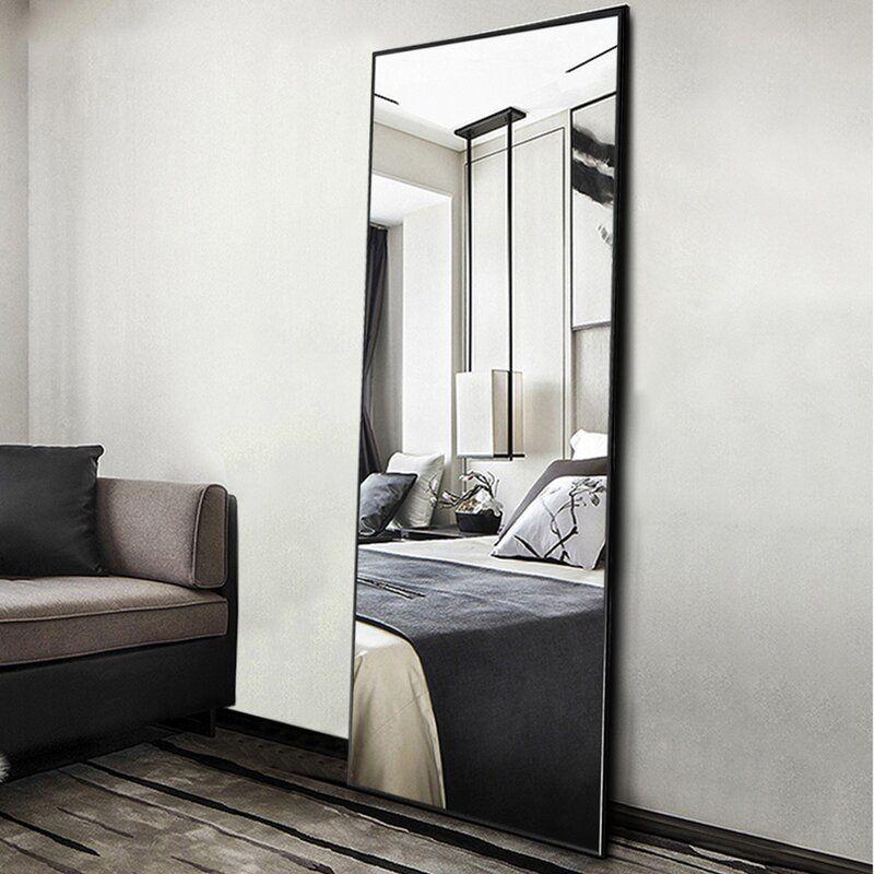 D Lsidoro Modern Contemporary Full Length Mirror In 2020 Large Full Length Mirrors Full Length Floor Mirror Full Length Mirror