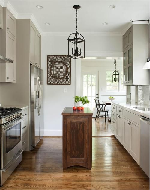 Light Transitional Kitchenterracotta Properties On Amusing Small Kitchen Island Design Ideas Decorating Inspiration