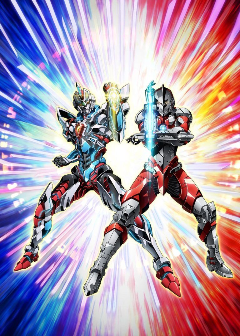 Gridman and Ultraman team up in anime form for new