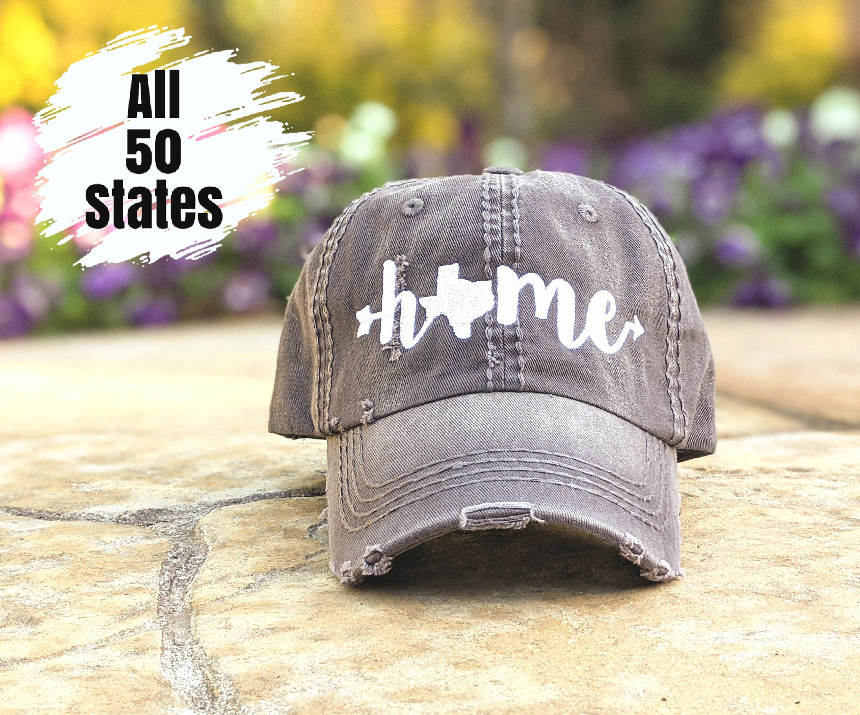 Home Texas Home Baseball Hat State Hat