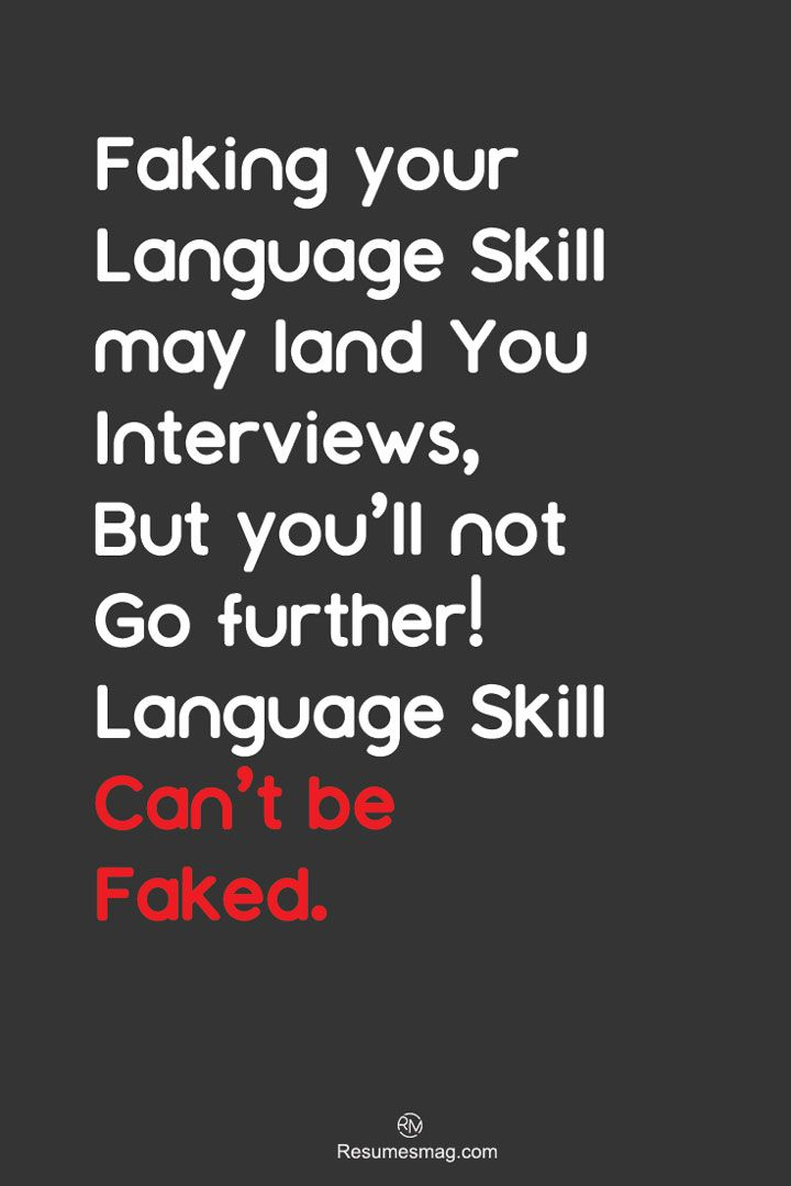 How to list language skills on resume resumes mag