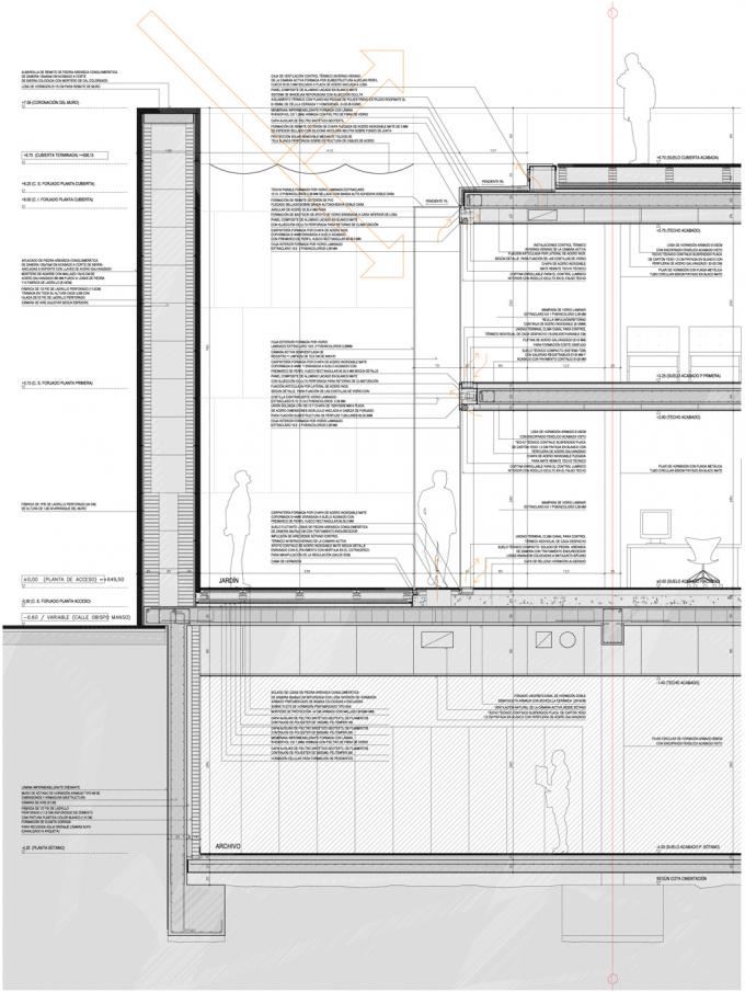 Hecho de aire alberto campo detalle constructivo - Arquitectos en zamora ...