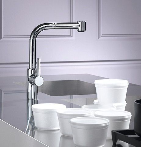 Dornbracht Elio Kitchen Pull Out Faucet