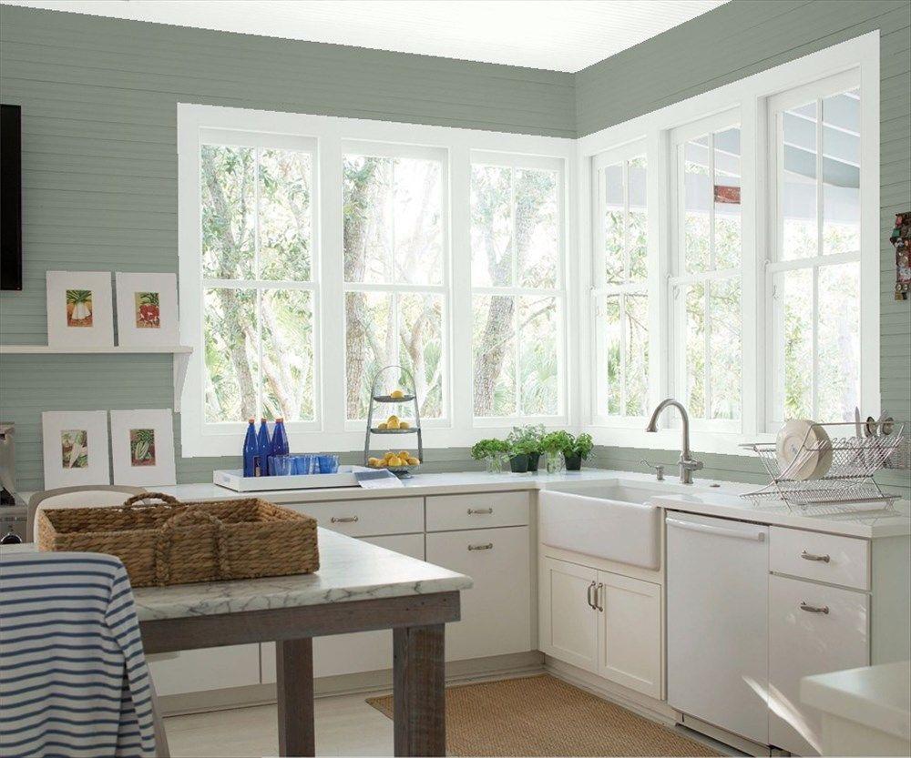 Ziemlich Beste Grüne Lackfarbe Für Küchenwände Zeitgenössisch ...