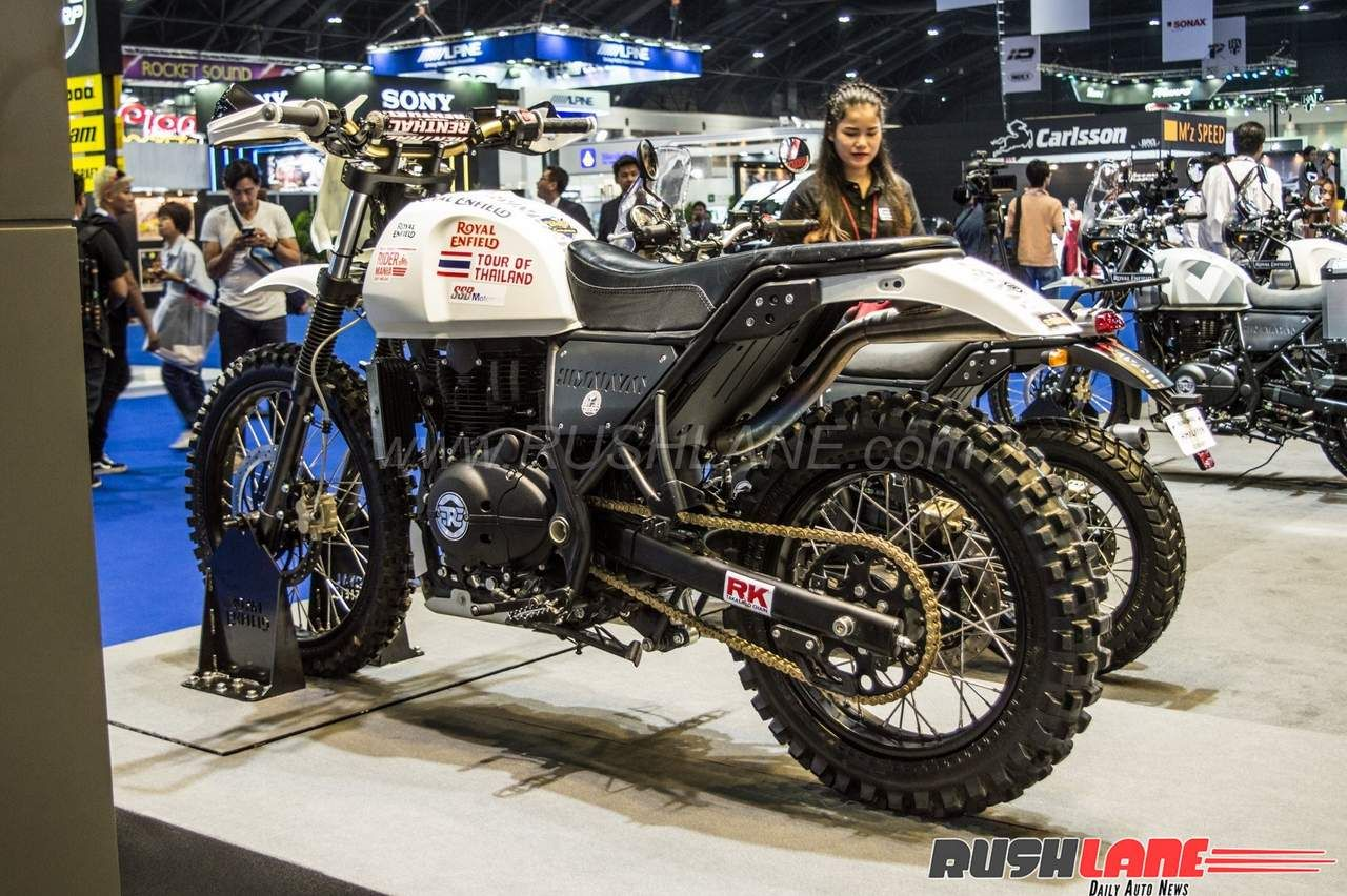 Royal Enfield Himalayan Off Road Adv Concept Showcased Enfield