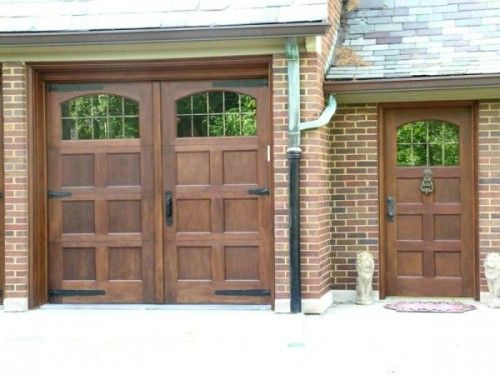 I Am Always Interested In Garage Doors That Dont Look Like Garage