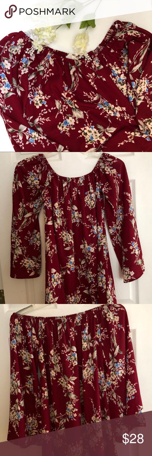 Promo Torch Tunik Women Burgundy Maroon M Terbaru 2018 Puritans Pride Vitamin B 12 2500 Mcg Sublingual 100 Microlozenges B12 Kesemutan Kebas Syaraf Vegetarian Sleeveless Dress Shirt Off Shoulder Floral Tunic