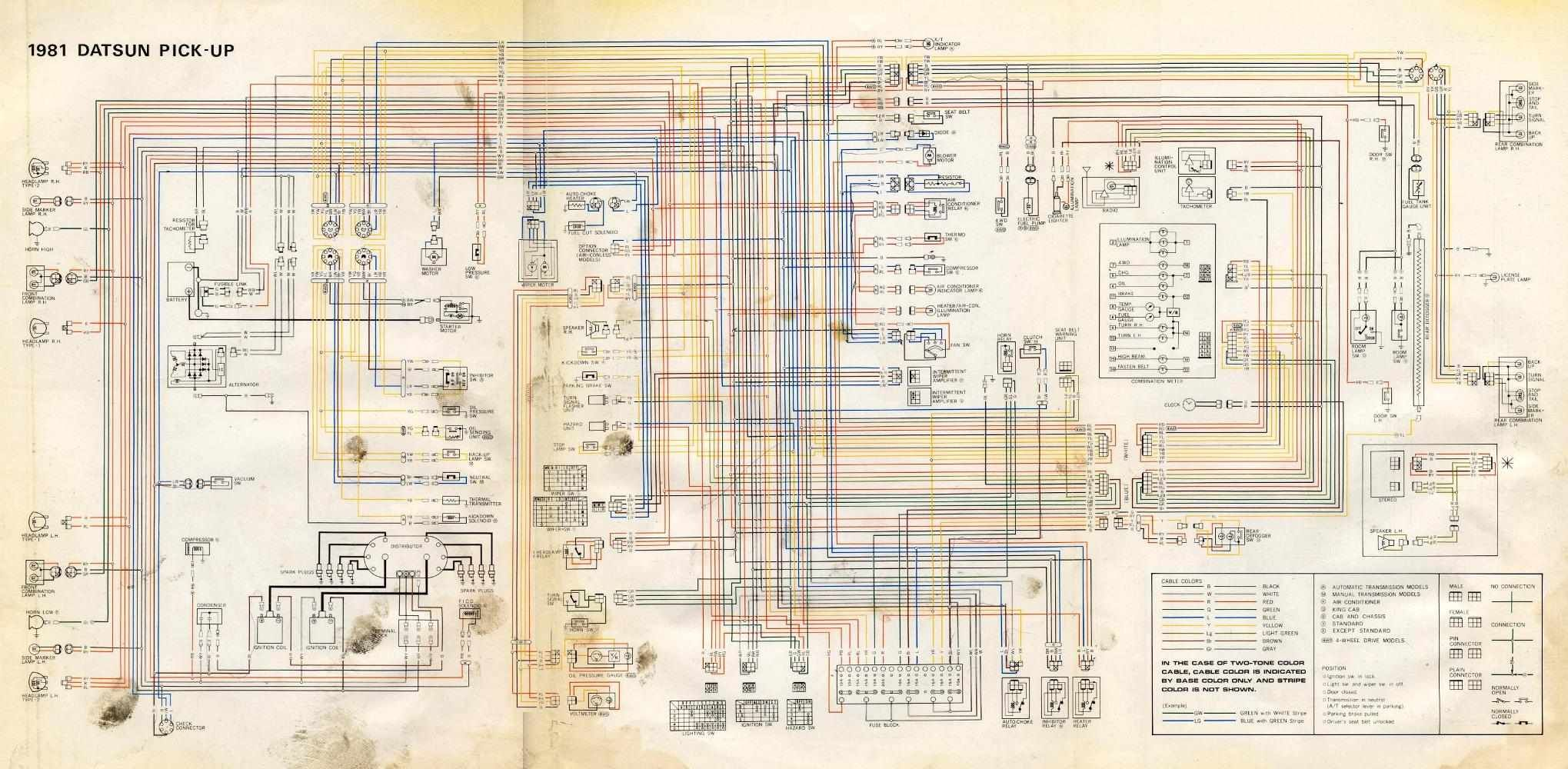 280z Wiring Diagram Color Data Schematics 240z Distributor 75 Another Diagrams U2022 Rh Benpaterson Co Uk For 1976