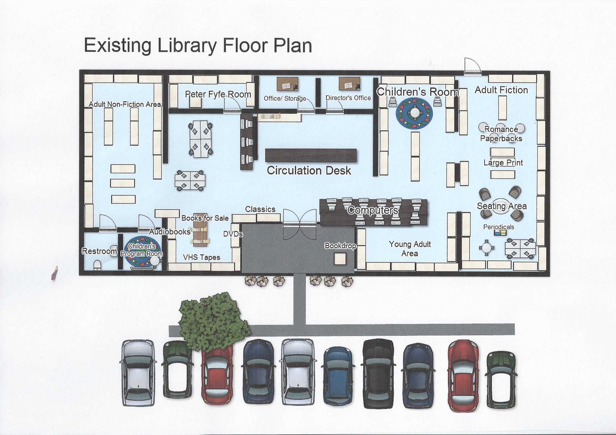 Bci Library Floor Plan Layouthttps Www Facebook Com Photo Php