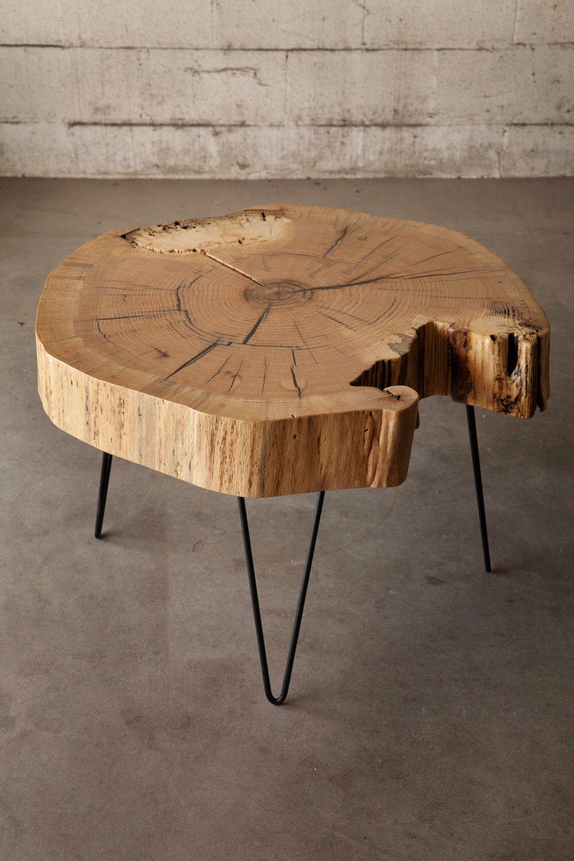 End Grain Red Oak Coffee Table Oak Coffee Table Wood Slab Table Coffee Table Wood [ 1500 x 1000 Pixel ]