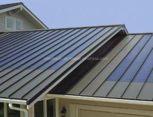 Bipv Thin Film Flexible Solar Panels 72w 144w Standing Seam Metal Roof Solar Panels Metal Roof
