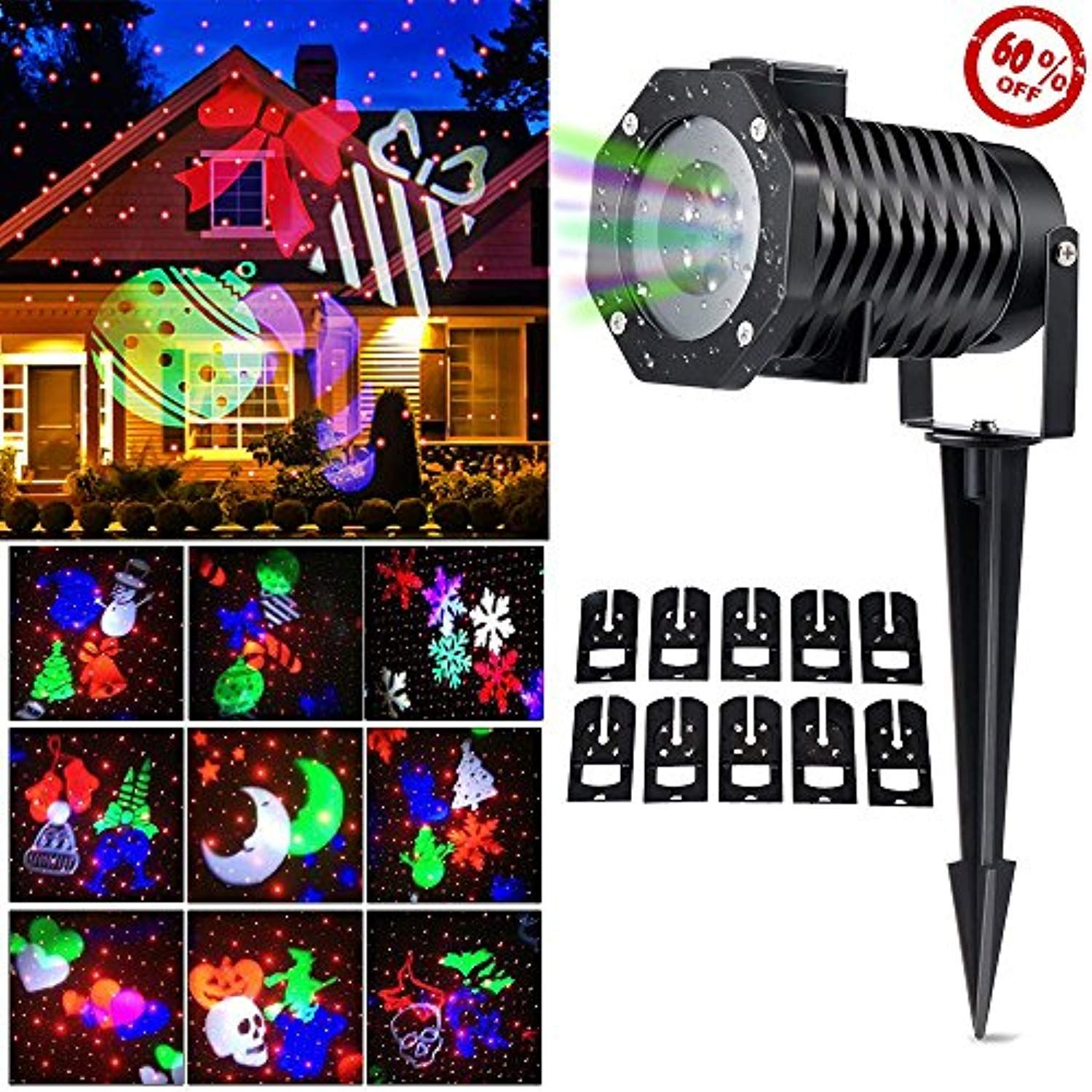 Cm Light Led Laser Projector Holiday Christmas Outdoor