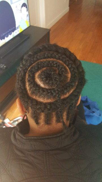 Braiding Pattern For Crochet Braids Suitable For Ponytail Styling