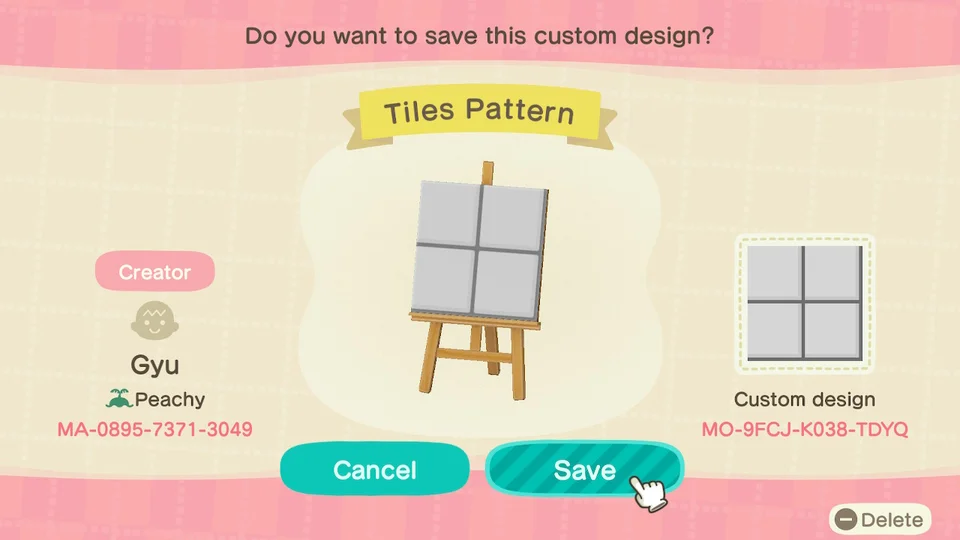 Basic Bathroom Tiles If Anyone Needs It Acqr In 2020 New Animal Crossing Animal Crossing Game Animal Crossing