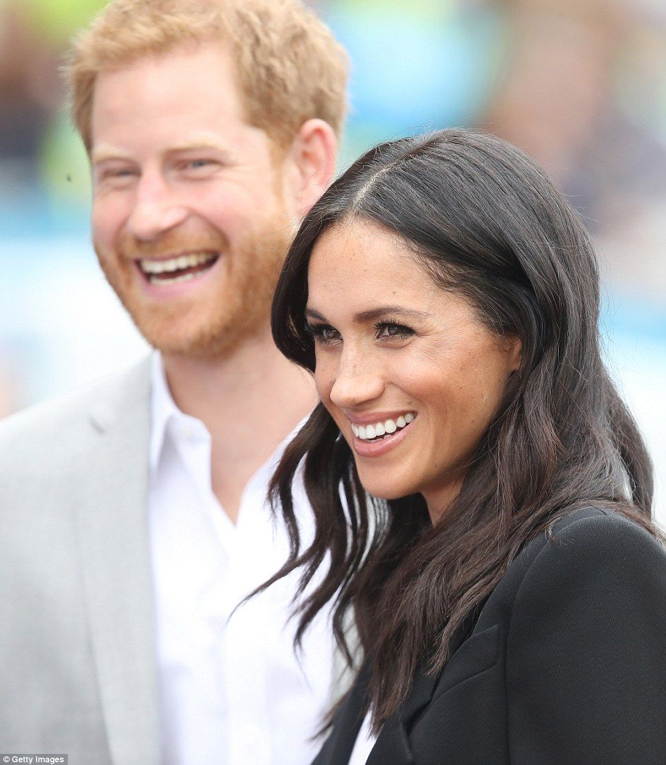 Is football coming home? Most definitely, according to Harry! The royal even took time out... #meghanmarkle