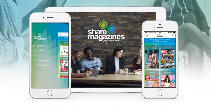 #Startup vorgestellt: sharemagazines - Digitaler Lesezirkel für grenzenloses Lesen