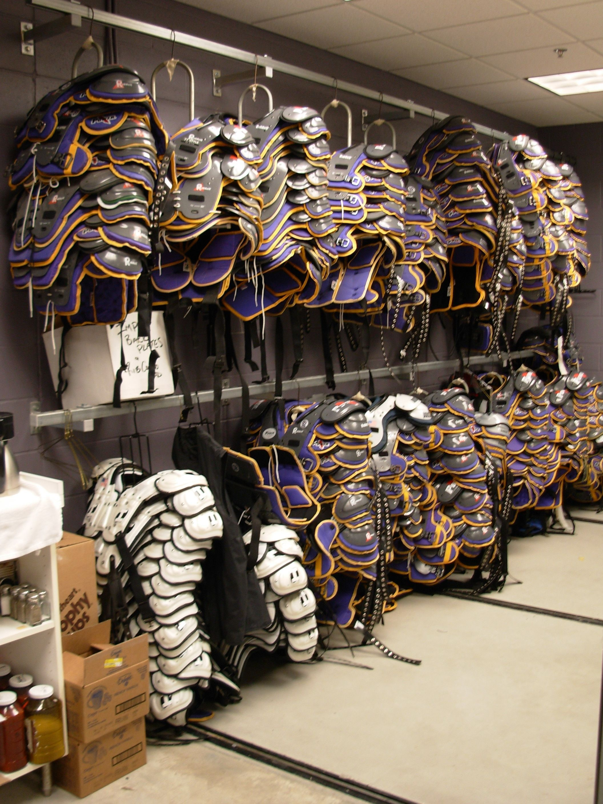 Professional Athletic Equipment Storage From Spacesaver Athletic Equipment Equipment Storage Football Equipment