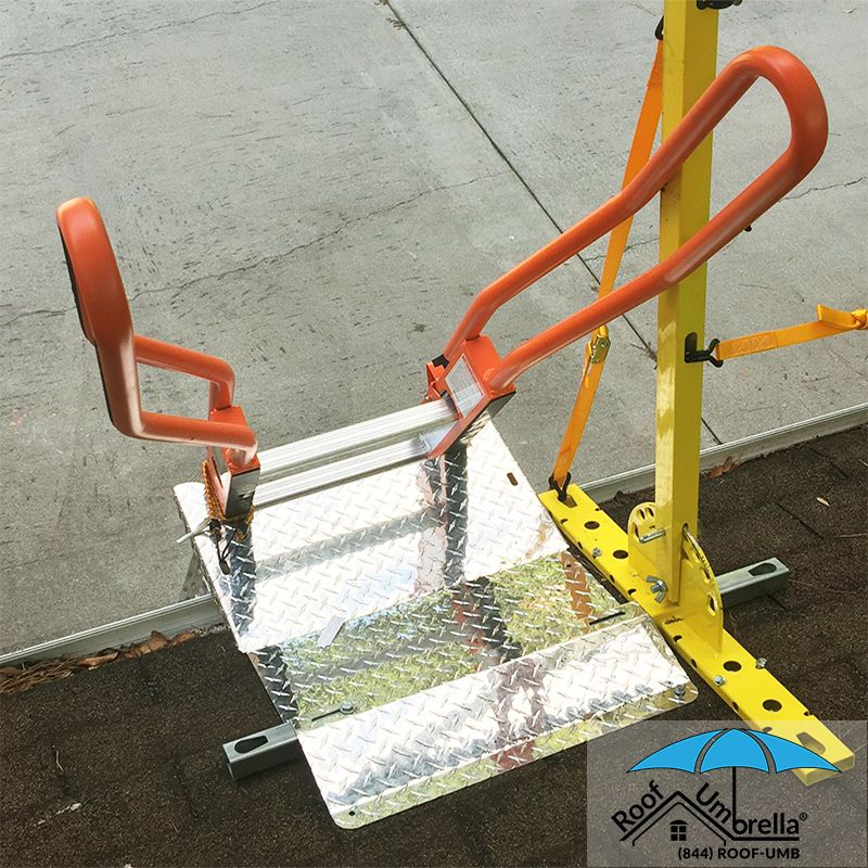 Connect Ladder Dock And Step Straight To The Roof Umbrella