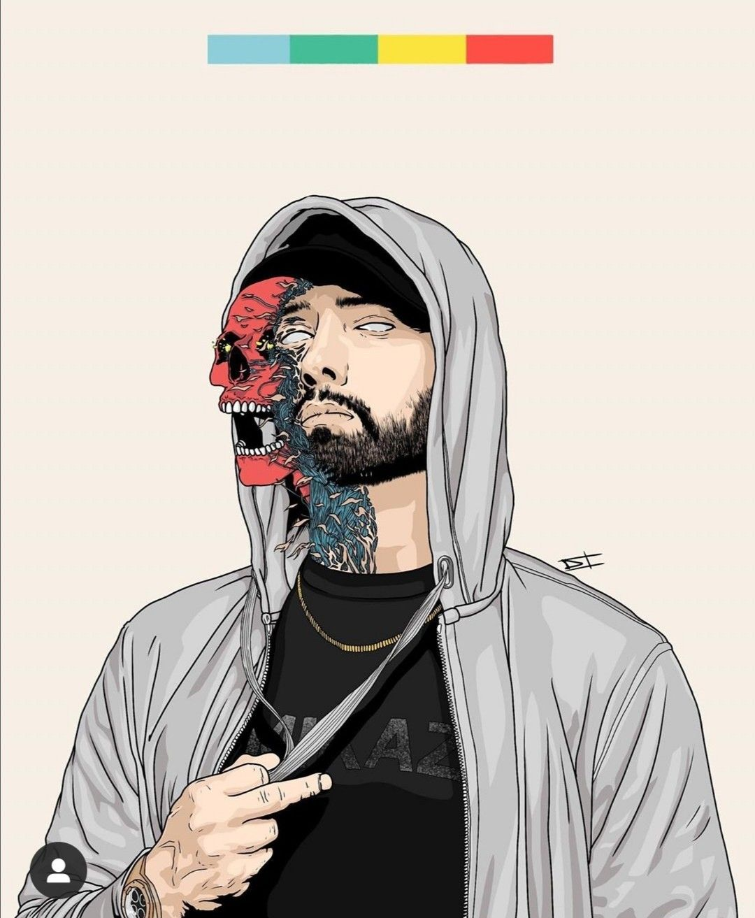 Pin by Andjela _Đela_ on Art in 2020 Eminem drawing