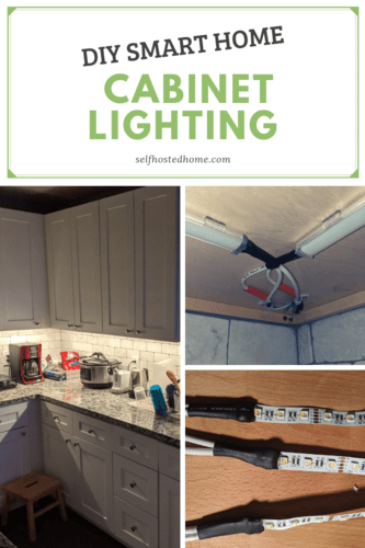 Diy Smart Home Cabinet Lighting Cabinet Lighting Diy Cabinet
