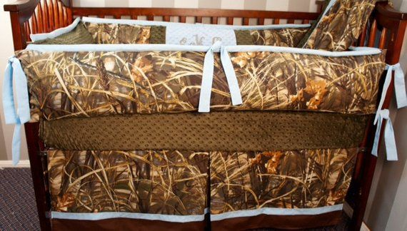 Custom Made Baby Crib Bedding Realtree Advantage Max4 Hd