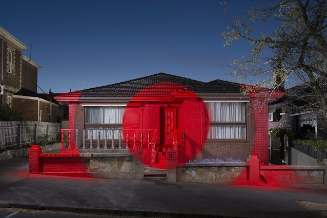 Ian Strange Turns Condemned Suburban House Into Temporary Gallery Suburban House Installation Art Strange