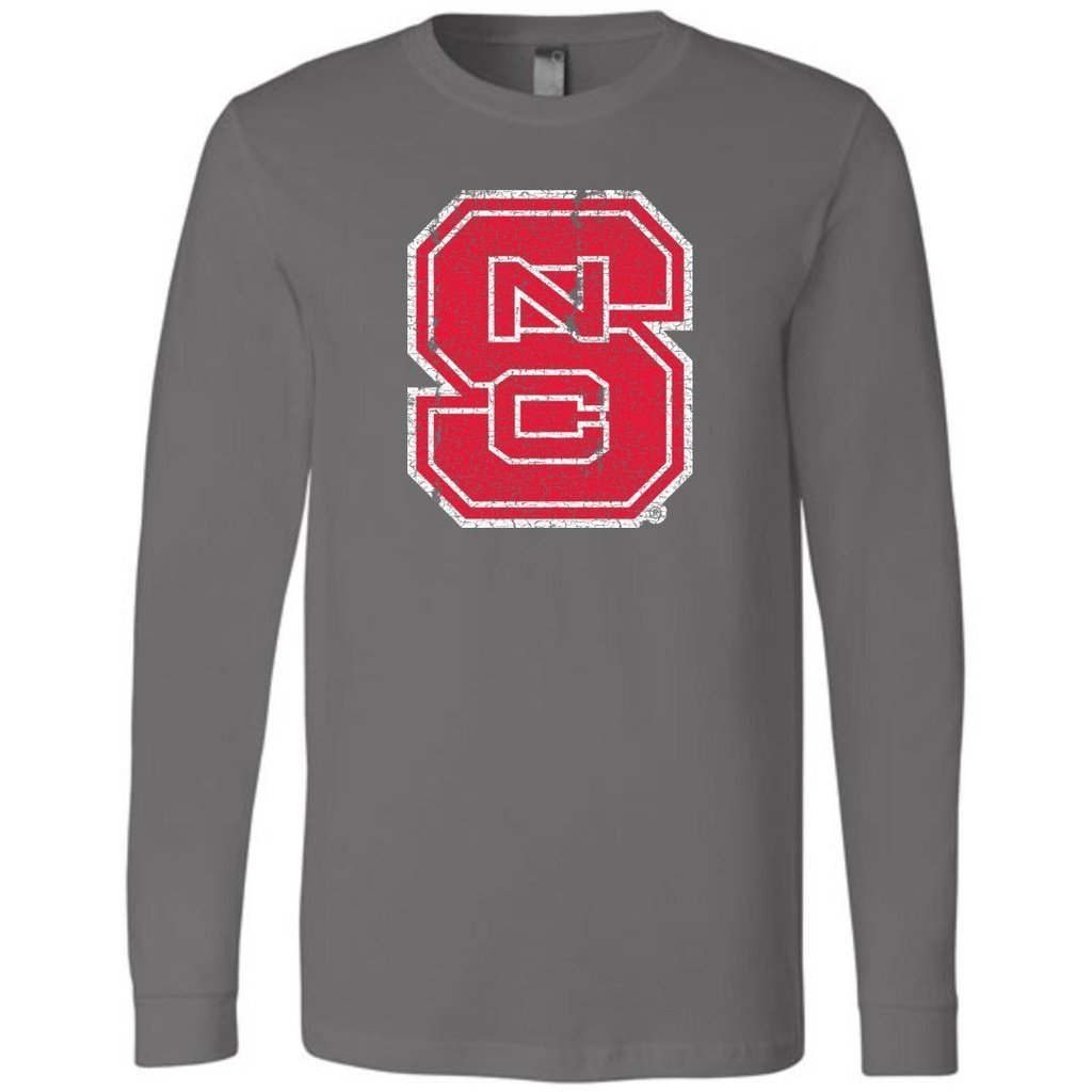 66d13faaba Official NCAA North Carolina State University Wolfpack NC State NCSU Long  Sleeve T-Shirt - ncsw1010-a