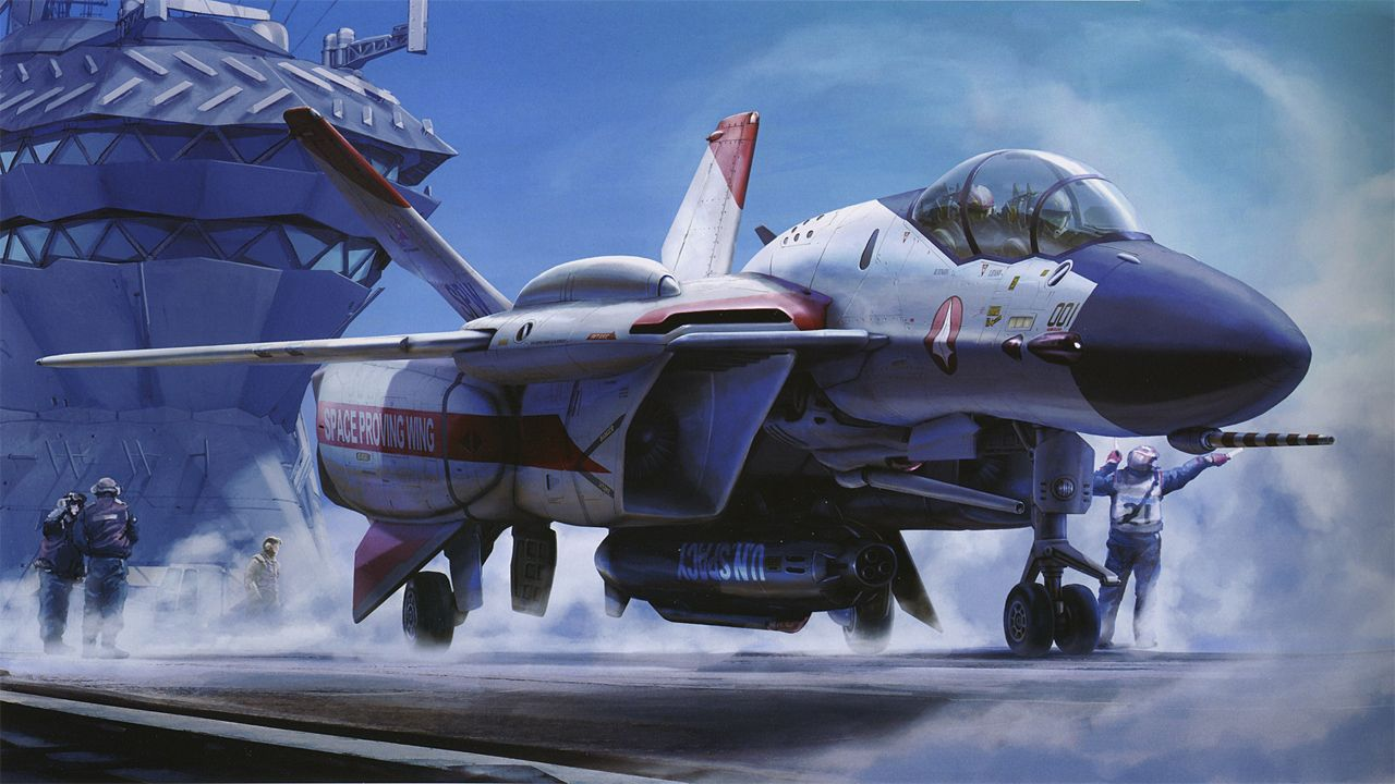 Macross Zero 2002 Anime