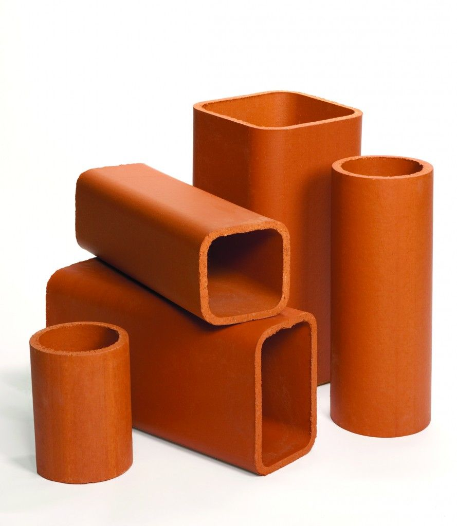 Superior Clay Flue Liner Dimensions Ceramics Wood Stove Chimney Clay Pipes