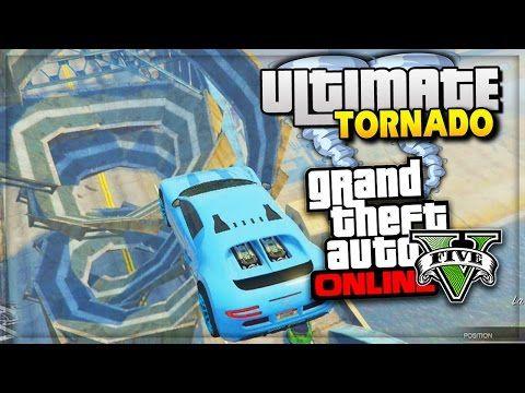 GTA 5 Funny Moments ULTIMATE TORNADO RAMP | GTA Online PS4 - (GTA 5 Online Funny Moments) - http://goo.gl/DRiS90