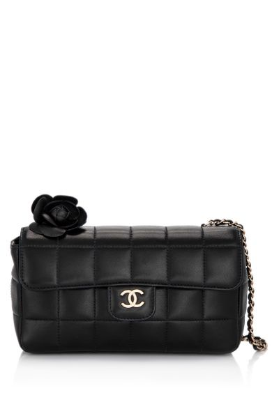 CHANEL Square Quilted Lambskin Mini Cross-Body Bag  7546dd58c1f54