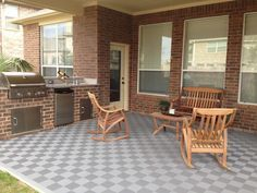 Interlocking Patio Flooring - Easy to install