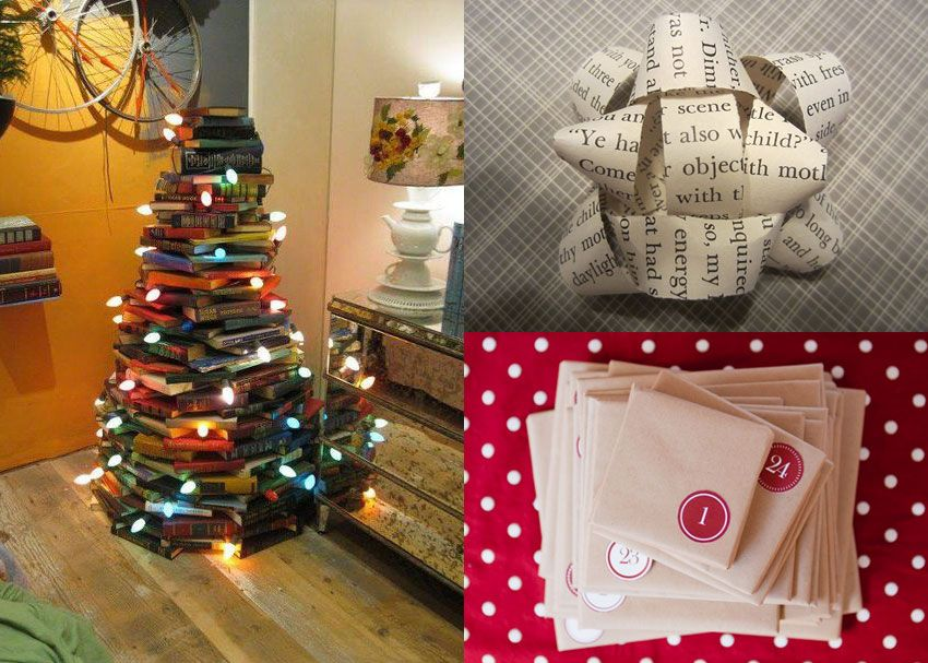 8 Clever Ways To Celebrate The Holidays With Books Brightly Holiday Books Holiday Crafts Book Crafts