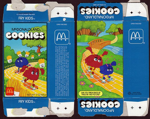 McDonaldland Cookies.  I had forgotten about these!