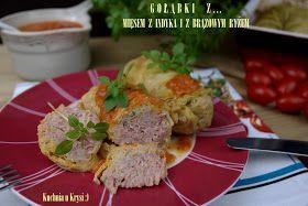 Kuchnia U Krysi Gołąbki Z Mięsem Z Indyka I Brązowym Ryżem