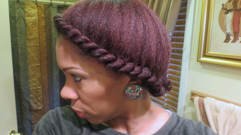 Natural hair two strand flat twist tutorial hair natural natural hair two strand flat twist tutorial baditri Images